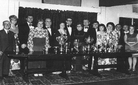 Photo taken during Band Dinner Dance Dec 1972